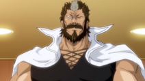 Shigematsu przybywa do Mansama