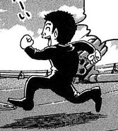 Komatsu in Lighter Suit