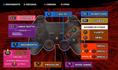 JSVV Controles PS3