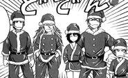 Toriko and the rest as Gourmet Santa