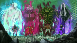 Zastraszenia Czterech Niebiańskich Królów