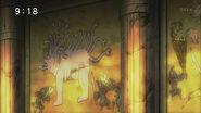 Gorgops and Mimic Bagworm on hieroglyphics anime