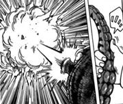 Octochan disparando