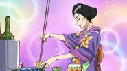 Tsurara cooking at CF