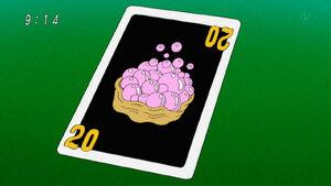 Bubble Seashell card