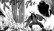 El Diablo Estruendoso a punto de ser aplastado