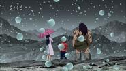 Melk and Atashino with Ichiryuu in Slow Rain Hills