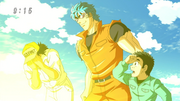 Toriko taking Tom's sunglasses