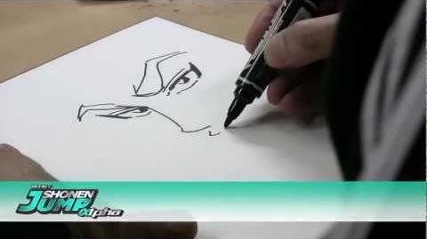 """Shonen Jump Alpha - Mitsutoshi Shimabukuro - Creator Sketch Video """"Toriko"""""""