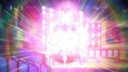 Diamont Figcrystal luminiscenting from Pochiko heat