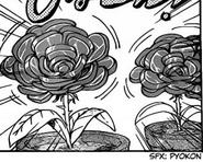 Roast ham flower