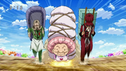 Setsuno, Yuda and Zaus