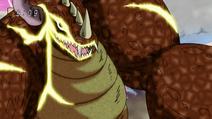Meteorsaurus upclose