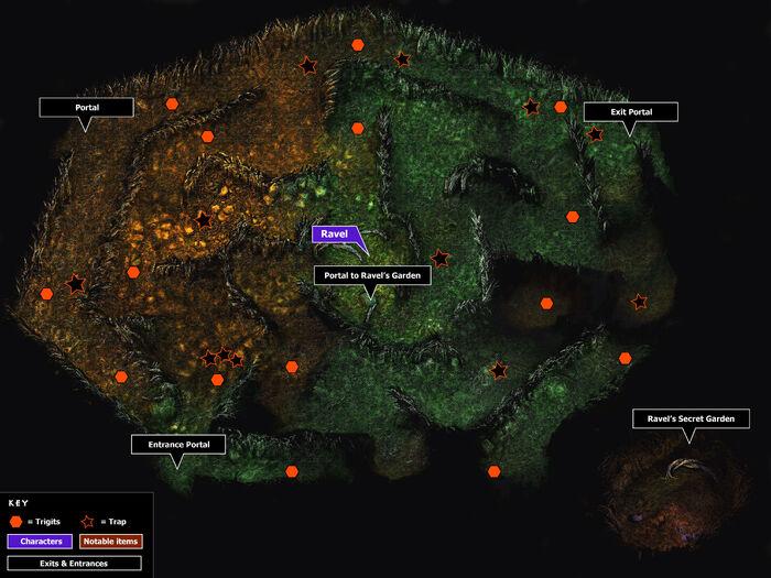 Ravels maze map