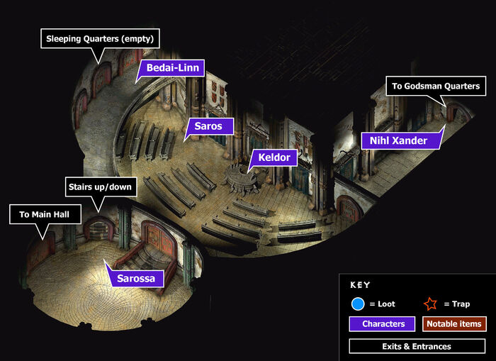 Great foundry godsmen halll map
