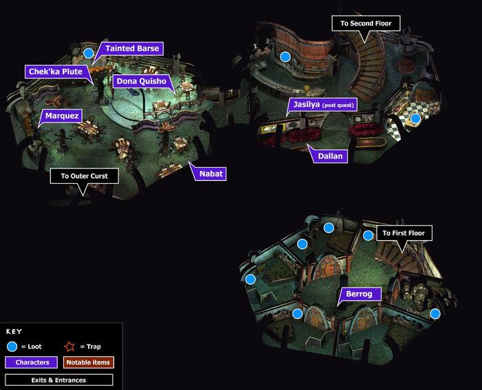 Traitors gate tavern map