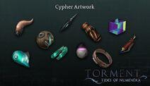 Numenera Cypher Artwork