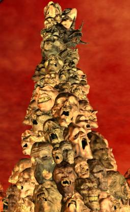Pillar of Skulls low angle