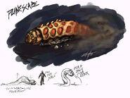 Concept art larval worm