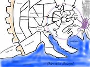 Sketch of sagus cliffs layout