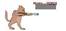 Mindra in battle mode