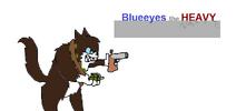 Blueeyes in Battle mode