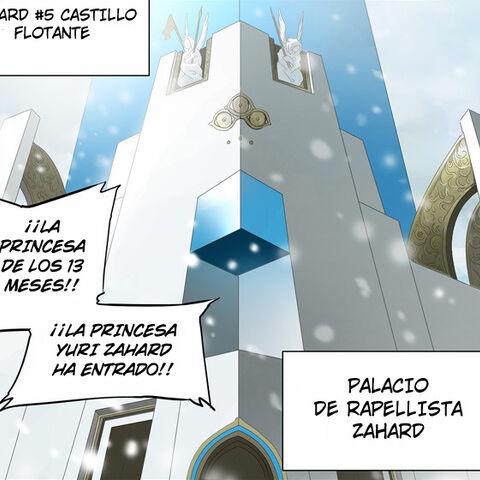 Quinto castillo flotante de Zahard