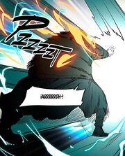 Aka detiene al guardian myrotic