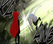 Koon ataca a Hwa Ryun