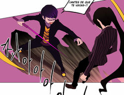 Prince ataca a Viole