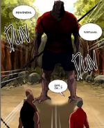 Rak se enfrenta a los Regulares enemigos