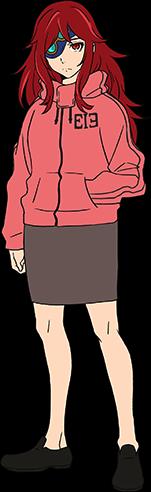 Diseño anime de Hwa Ryun