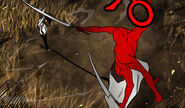 Koon-contra-espadachin-rojo