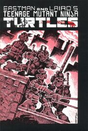 Teenage Mutant Ninja Turtles 01 cover Mirage
