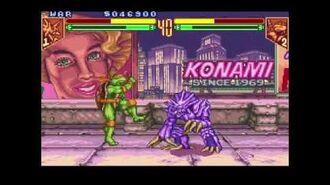 Teenage Mutant Ninja Turtles - Tournament Fighters (Super NES) Tournament as War
