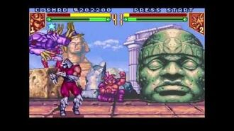 Teenage Mutant Ninja Turtles - Tournament Fighters (Super NES) Tournament as Shredder