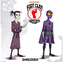 Foot Clan Origins Shredder