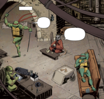 Idw first lair