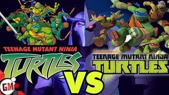 TMNT 2003 VS TMNT 2012 PART 2