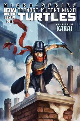IDW-One-shot-Karai