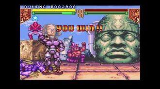 Teenage Mutant Ninja Turtles - Tournament Fighters (Super NES) Tournament as Rat King