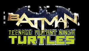 Batman-TMNT-logo