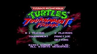 Teenage Mutant Ninja Turtles - Tournament Fighters (Sega Genesis) as April O'Neil (Level 8)