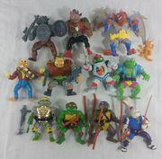 Ninja Turtle vintage lot Playmates Toys action figures accessories