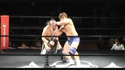 Mototsugu Shimizu & Jun Ogawauchi -vs- Yoshihito Sasaki & Shinya Ishikawa