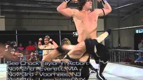 Evolve Chuck Taylor (w THE SWAMP MONSTER) vs. Mike Cruz Full Match Evolve 13 Gargano vs