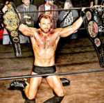 Timothy Thatcher with freedom and evolve belts