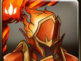 燃燒的赤鐵