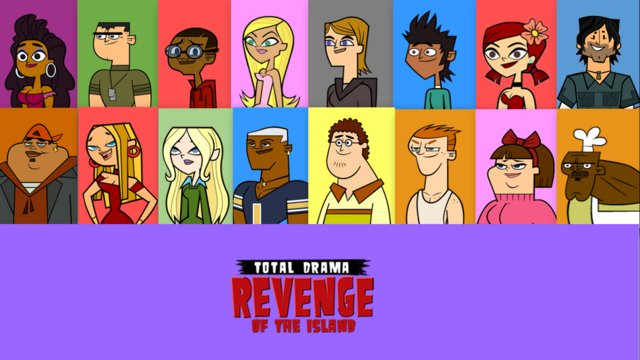 File:Total Drama Revenge of the Island - Poster.png