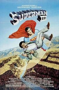 Superman 3 poster